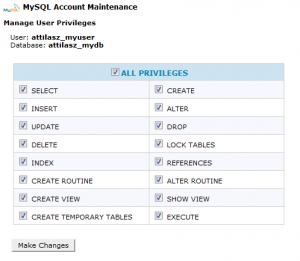 MySQL - adding privileges